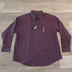 NWT Van Heusen Big & Tall Long Sleeve Dress Shirt